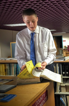 Summer 2016 Intern Griffin Bixler, Brevard County Historical Commission